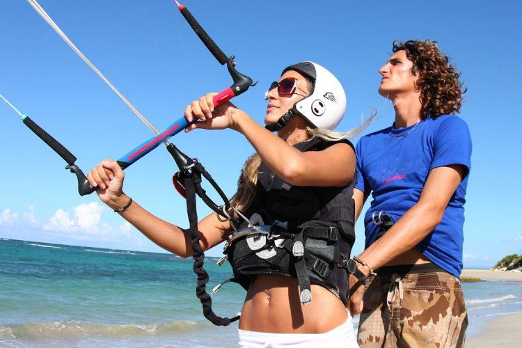 AltaVista Kitesurfing lessons for all levels of experience