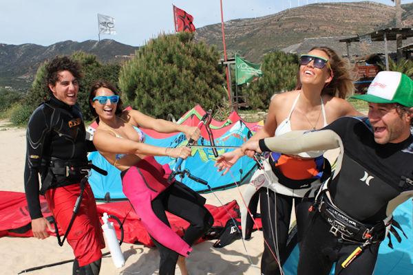 Meet new friends on an AltaVista kitesurfing experience. Good memories
